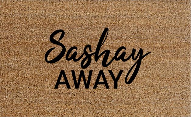 Natural Fibre Doormat - Sashay Away