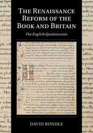 Cambridge Studies in Palaeography and Codicology: Series Number 17 by David Rundle
