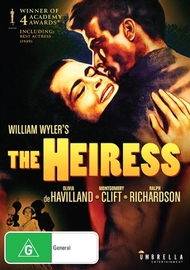 The Heiress on DVD