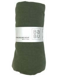 Babu: Merino Bound Wrap - (Khaki) image