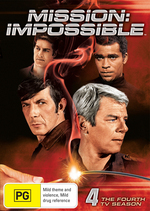 Mission: Impossible (1966) - The 4th TV Season (7 Disc Set) on DVD