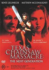 Texas Chainsaw Massacre - The Next Generation on DVD