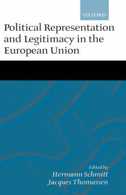 Political Representation and Legitimacy in the European Union image
