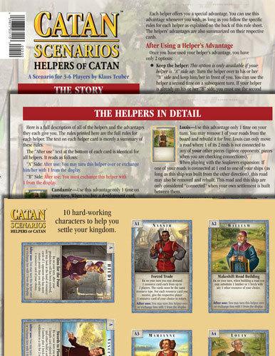 Catan: Scenarios - Helpers of Catan