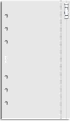 Filofax Pocket - Zip Lock Envelope