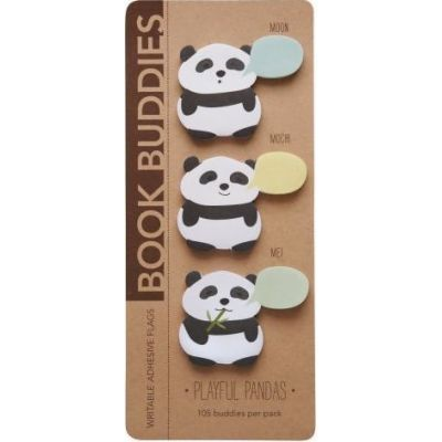 Girl Of All Work Book Buddies - Pandas