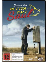 Better Call Saul - Season 1 on DVD
