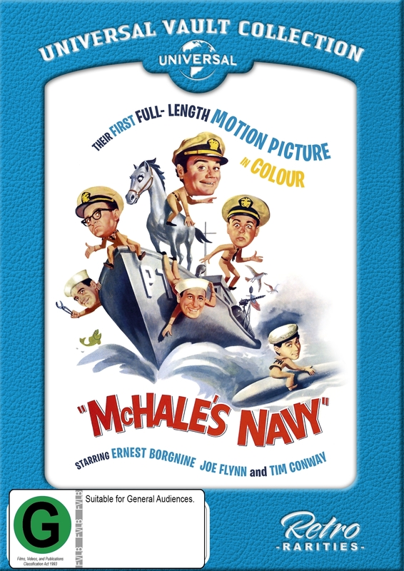 Mchale's Navy: The Movie (1964) [Universal Vault Collection] on DVD