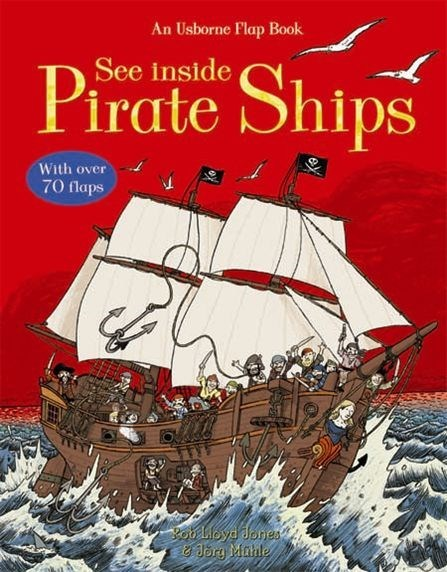 See Inside Pirate Ships by Katie Daynes image