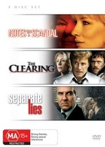 Notes On A Scandal / The Clearing / Separate Lies (3 Disc Set) on DVD