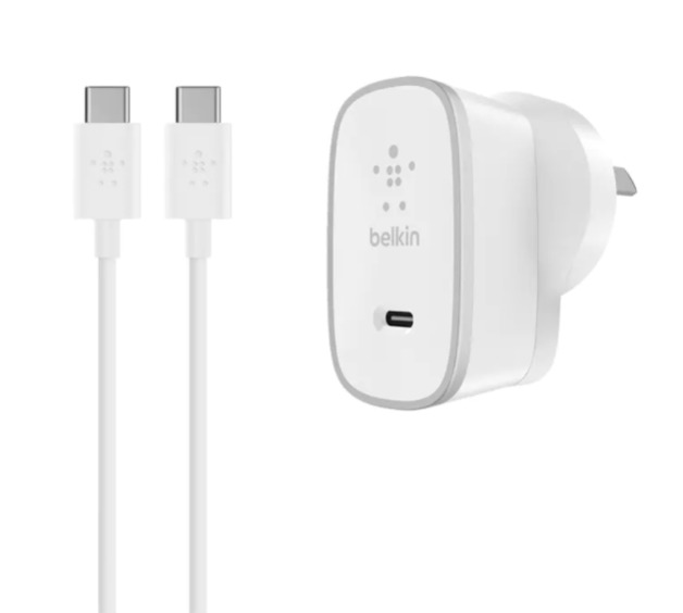 Belkin: 15W USB-C Home Charger + USB-C Cable