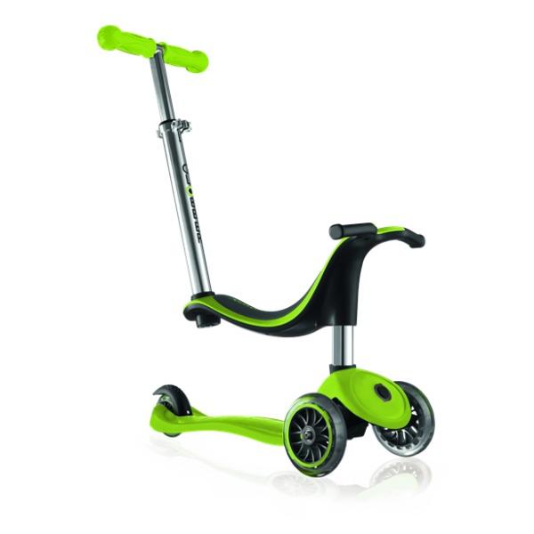 Globber: Evo 4in1 - 3 Wheel Scooter (Lime Green)