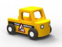 Moover: Road Service - Wooden Mini Car