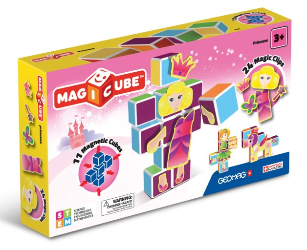 Magicube: Princess - Magnetic Construction Set