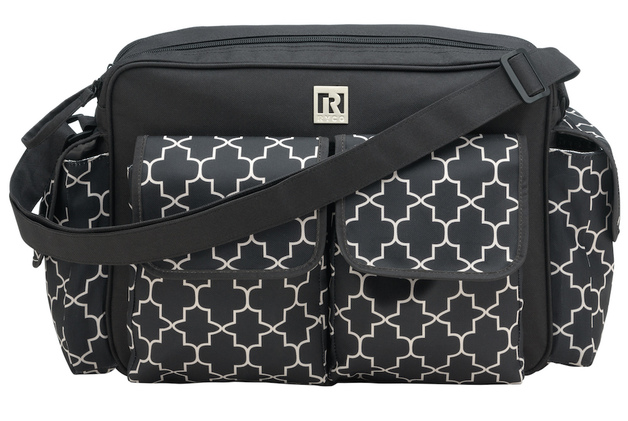 Ryco: Willow Nursery Bag - Black