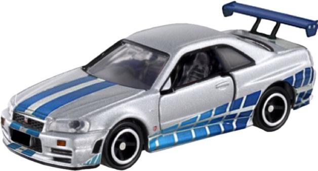 Dream Tomica: Fast and Furious BNR34 Skyline