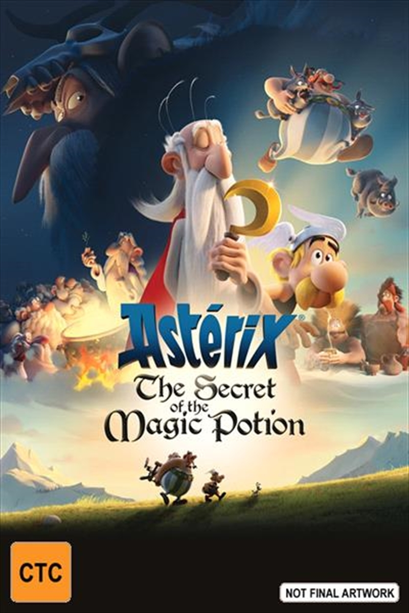 Asterix - The Secret Of The Magic Potion on DVD image