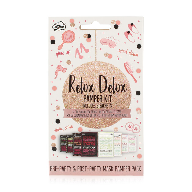 NPW Gifts: Rosé Gold - Retox Detox Pamper Kit