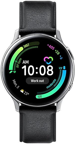 Samsung: Galaxy Watch Active 2 - Stainless Steel/40mm (Silver)