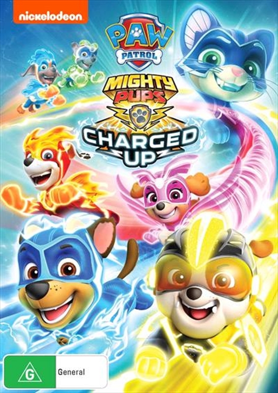 Paw Patrol: Mighty Pups - Charged Up on DVD