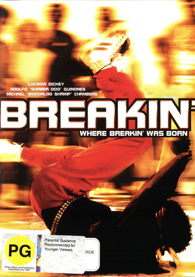 Breakdance Aka Breakin' on DVD image
