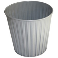 Fluteline Metal Bin - Silver Elite image