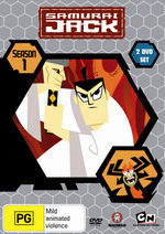 Samurai Jack - Season 1 (2 Disc Set) on DVD