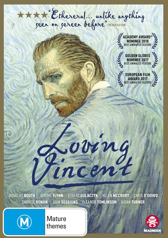 Loving Vincent on DVD