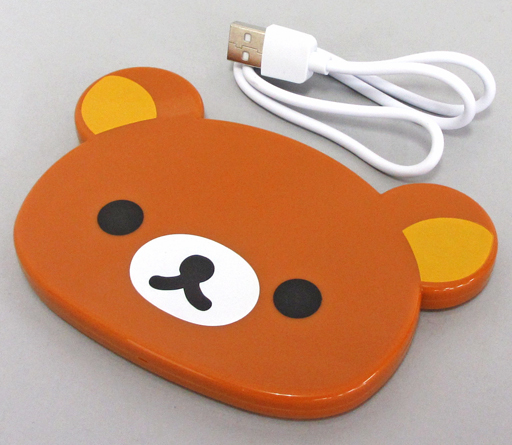 Wireless Smartphone Charger: Rirakkuma