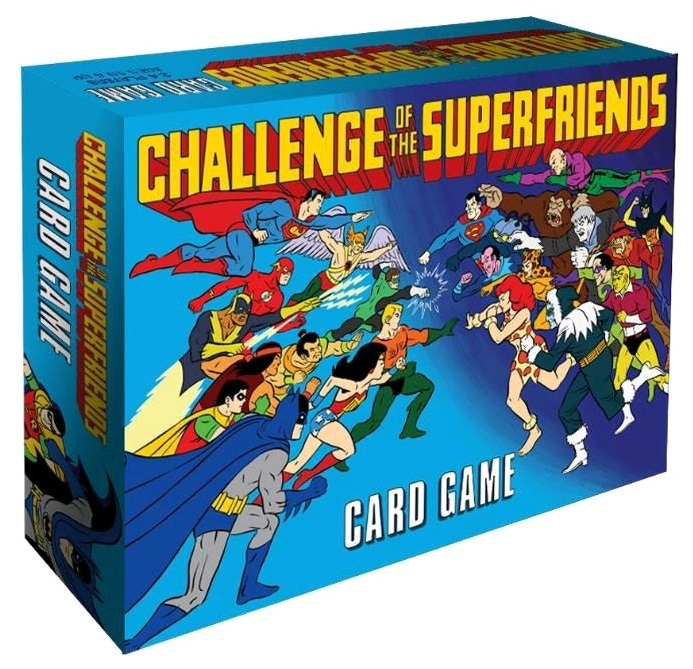 Challenge of the Superfriends - Card Game image
