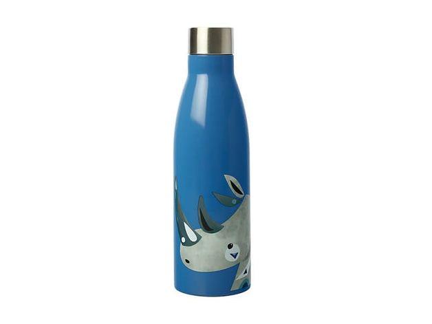 Maxwell & Williams: Wildlife Double Wall Insulated Bottle - Rhino