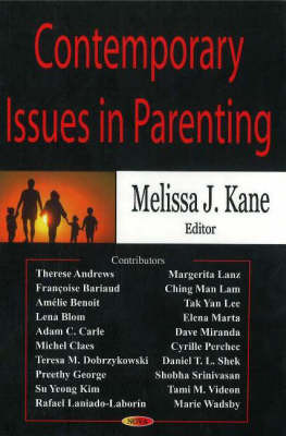 Contemporary Issues in Parenting by Melissa J. Kane image
