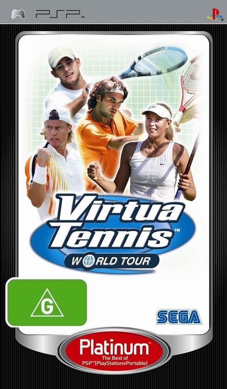Virtua Tennis World Tour for PSP