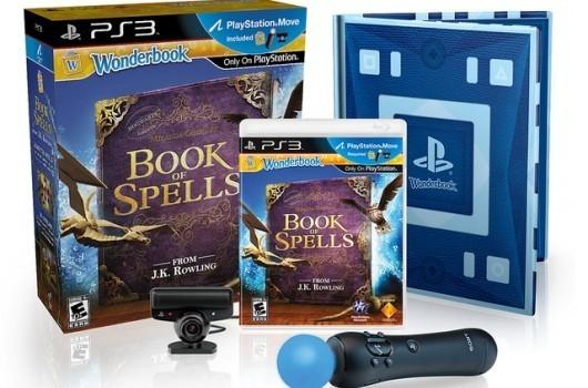 Wonderbook: Book of Spells bundle (Eye Camera + Move Controller) for PS3