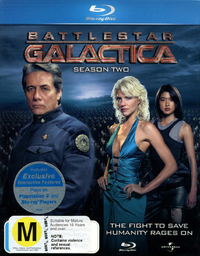 Battlestar Galactica - The Complete Second Season on Blu-ray