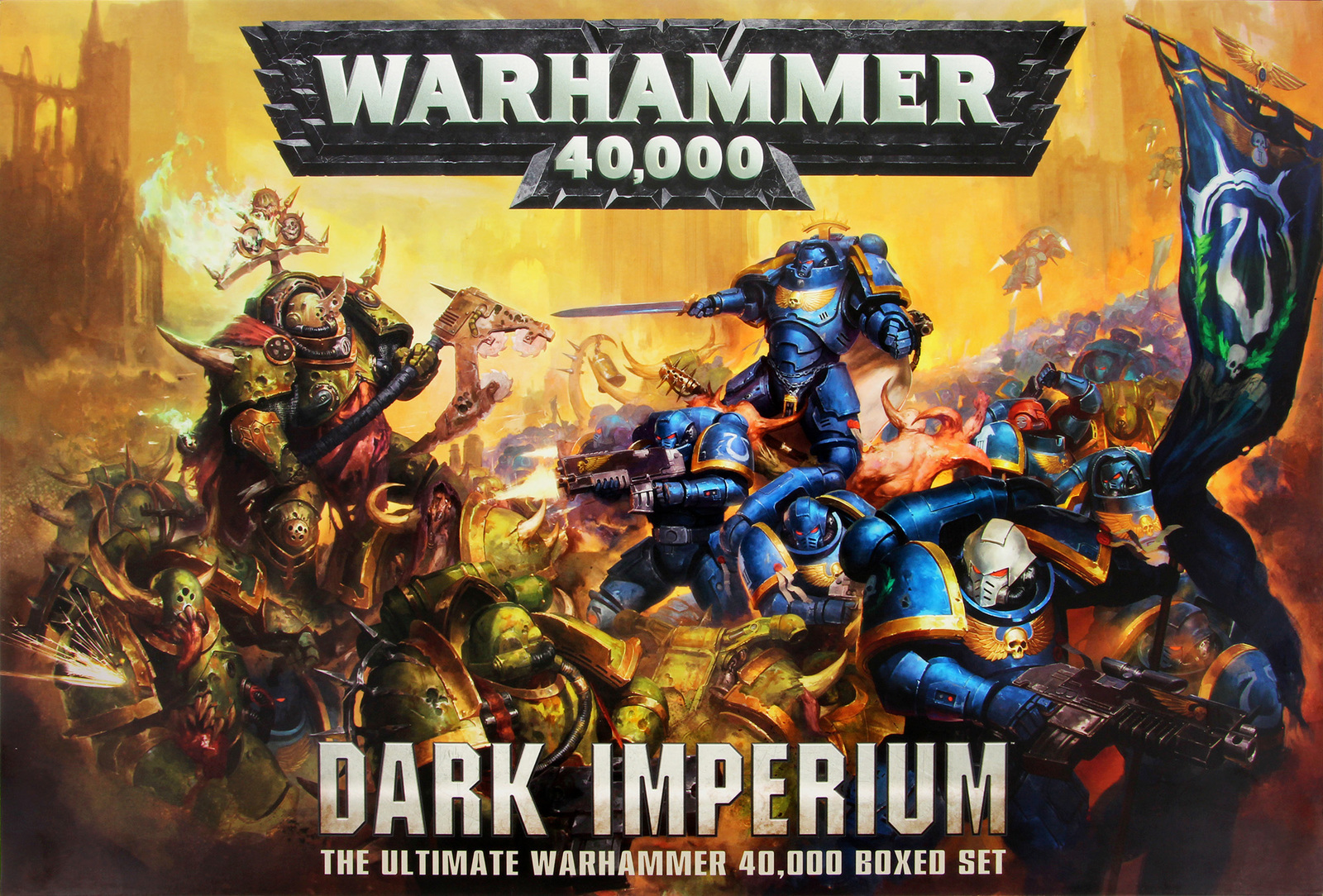 Warhammer 40 000 Dark Imperium Boxed Set At Mighty Ape Nz
