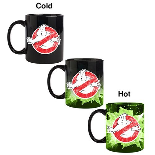 Ghostbusters Logo - Heat Changing Mug
