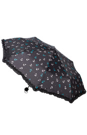 Sourpuss Nautical Anchors Umbrella