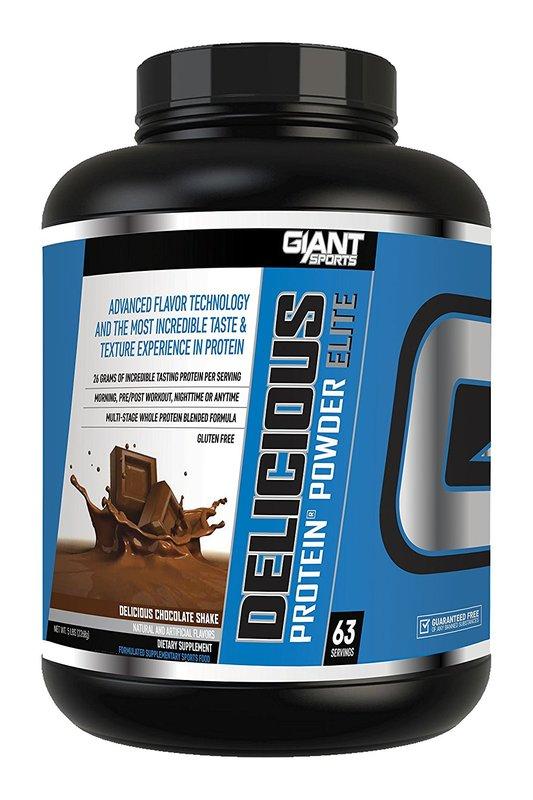 Giant Sports Delicious Elite Protein Chocolate (2.27kg)