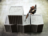 Secret Weapon Terrain: HESCO Barriers (5) image