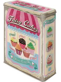 Nostalgic Art: Storage Tin - Fairy Cakes (XL)