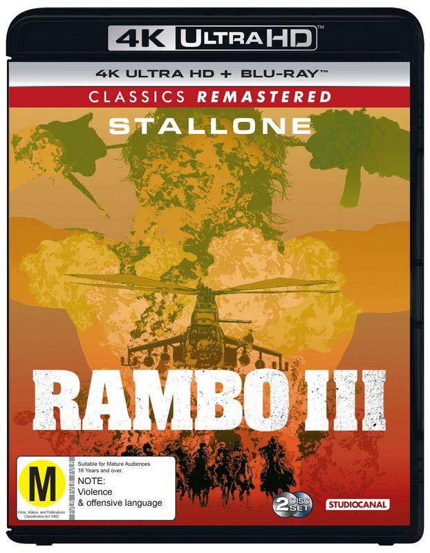 Rambo: First Blood Part III on UHD Blu-ray