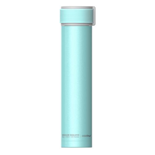 Asobu: Skinny Mini Water Bottle (Teal)