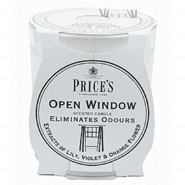 Price's Odour Elimination Candle - Open Window