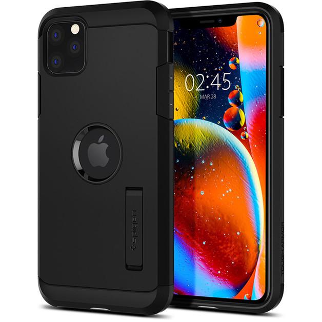 Spigen: iPhone 11 Pro Tough Armor Case - Black