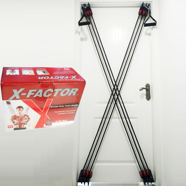 Weider X-Factor Door Gym Fitness & Exercise Total Body Training System