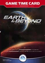 Earth and Beyond Gametime Card for PC Games