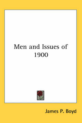 Men and Issues of 1900 image