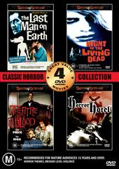 Horror Collection One - Volume Two - 4 Movie Box Set (2 Discs) on DVD