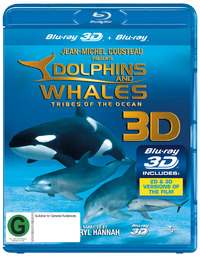 Dolphins And Whales: Tribes of the Ocean (3D & 2D Blu-ray) on Blu-ray, 3D Blu-ray